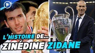 Le fabuleux destin de Zidane, du footballeur de génie à l'entraîneur sans limites