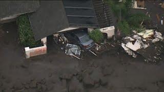 California crews search for survivors of mudslides