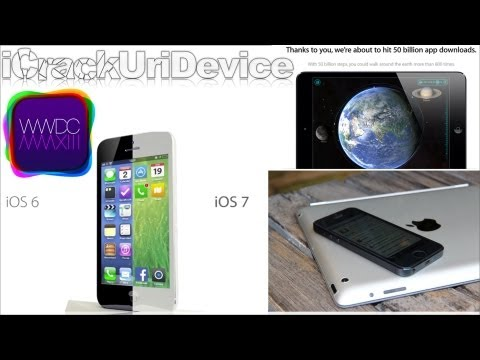 iOS 7 Concept, Untethered Jailbreak 6.1.3 Details, Retina iPad Mini, 50 Billion Apps & More