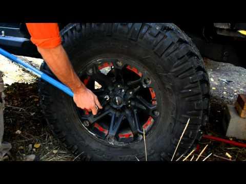 Removing Gorilla Lock Lug Nuts Without A Key