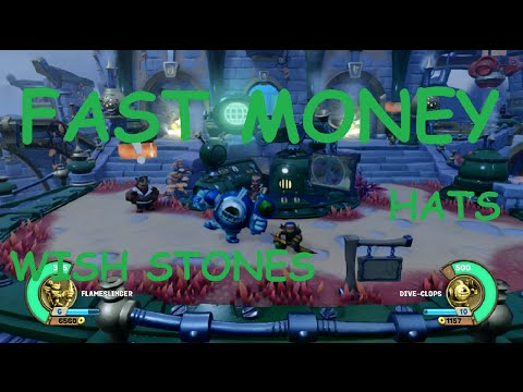 Skylanders SuperChargers - FAST MONEY/GOLD & all COLLECTIBLES | 7000 gold in 15 min |