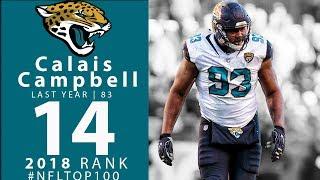 #14: Calais Campbell (DE, Jaguars) | Top 100 Players of 2018 | NFL