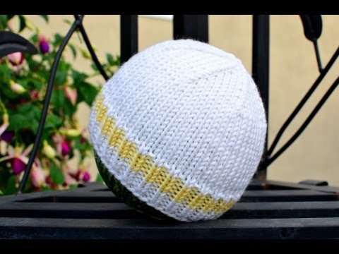 How to Knit an Easy and Basic Baby Hat