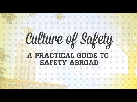 How to Study Abroad: Culture of Safety Video