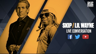 Skip Bayless interviews Lil Wayne (Streamed Live on 4/21/17) | UNDISPUTED