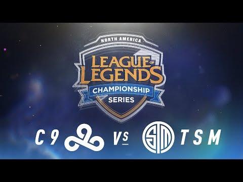 C9 vs. TSM - Week 8 Day 2 | NA LCS Spring Split | Cloud9 vs. TSM(2018)