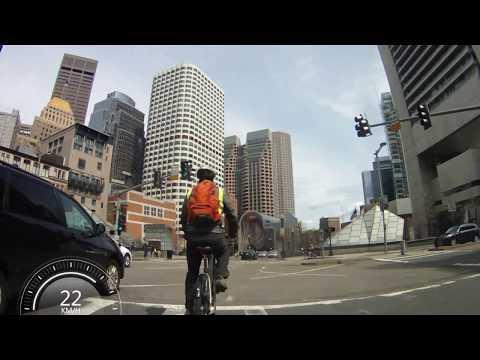 Biking in Boston - Fenway Park to TD Garden