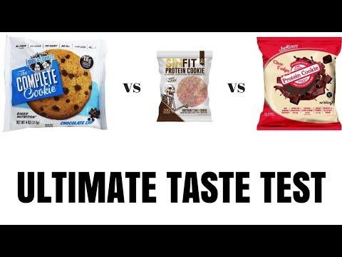 Protein Cookie Showdown | Lenny & Larry's vs SinFit vs Justine's