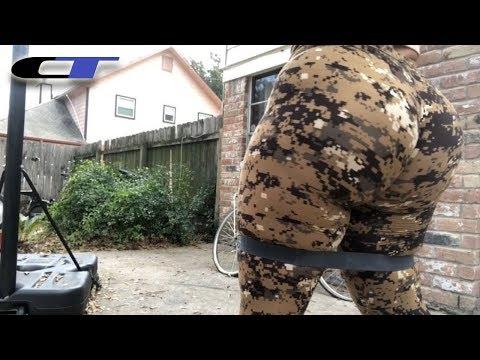 Resistance Band Exercises 4 PLUS SIZE GURLS (Big Bottom Behaviour)