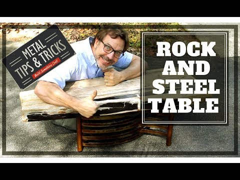 How to make a Rock and steel table