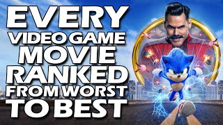 Every Video Game Movie Ranked from Worst to Best