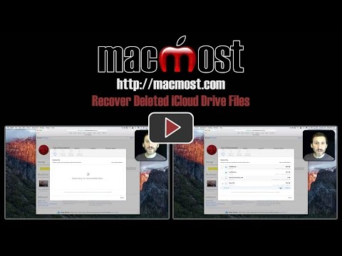 Recover Deleted iCloud Drive Files (#1296)