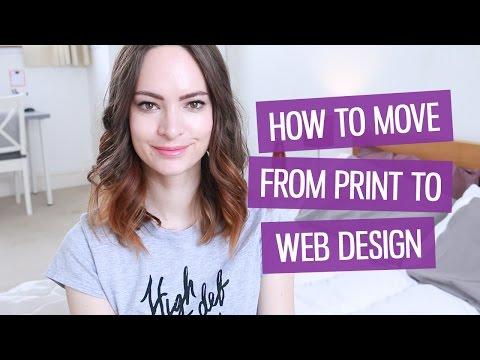 How to become a web designer (moving from print) | CharliMarieTV