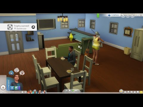 The Sims 4 - Basketcase Trophy/Achievement