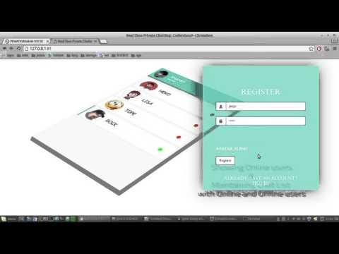 Aplikasi Webchat Realtime with node.js+Socket+MySQL