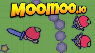 MooMoo.io - Huge Army Takes Over the Map - Bow Update! - Let