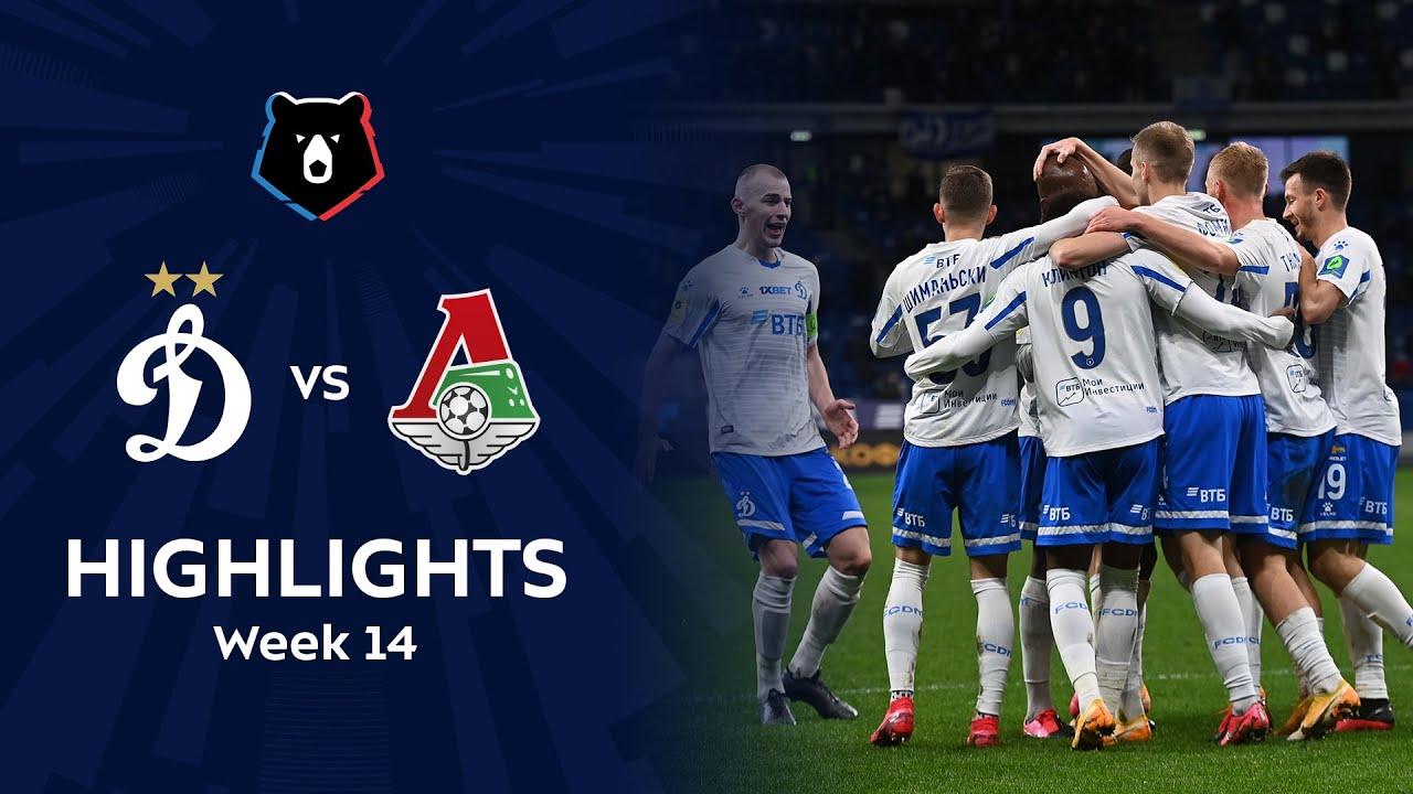 Highlights Dynamo vs Lokomotiv (5-1)   RPL 2020/21