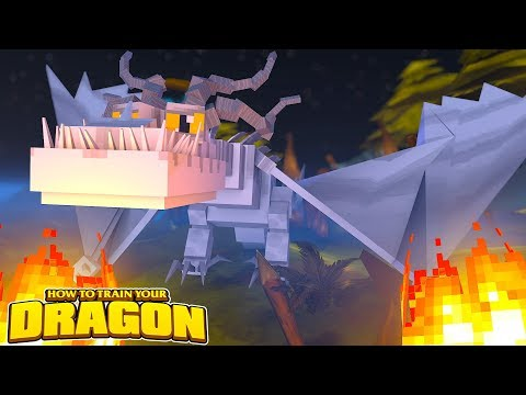 THE WHITE DRAGON!  HOW TO TRAIN YOUR DRAGON #70 w/ Little Lizard