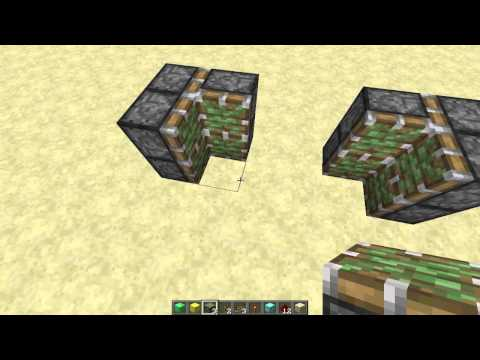 Minecraft Tutorial: Most Compact 2x2 Flush Piston Door Ever Created!
