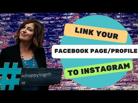 How to Link Your Facebook Profile/Page to Instagram