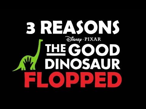 Three Reasons The Good Dinosaur Flopped
