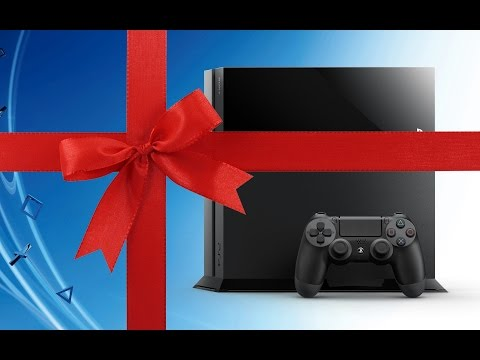 Merry Christmas! My Christmas PS4 UNBOXING