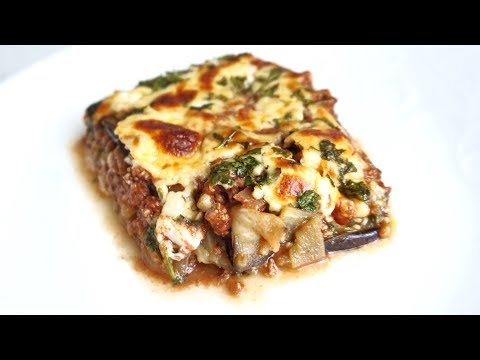 How to Make My Eggplant Lasagna - Lower Calorie Recipe