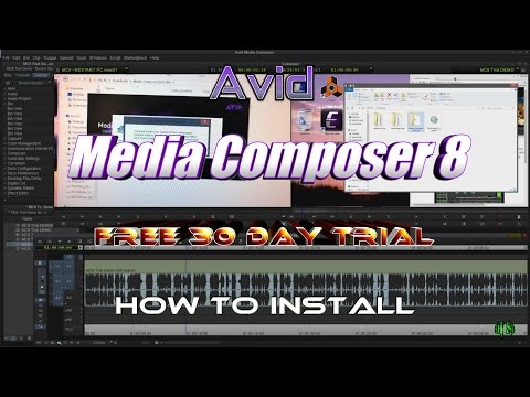 Media Composer 8 Free 30 Day Trial - Install & Open