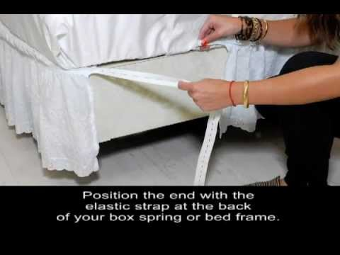 Country Living Adjustable Bedskirt Instructions