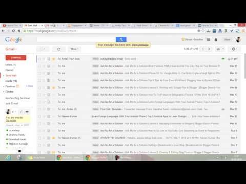 How to Track Sent Mail Read/Unread Status in Gmail