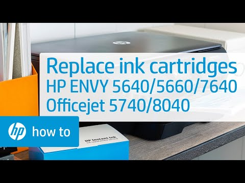 Replacing the Ink Cartridges