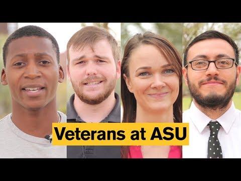 Veteran students at Arizona State University (ASU)