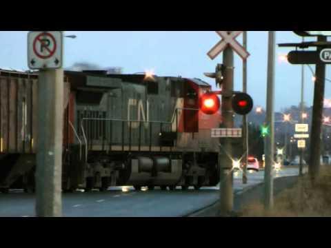 CN Train #436 at Port Arthur