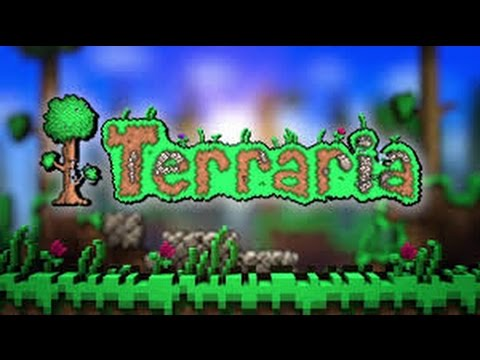 Terraria Ep 1 Werewolves before hardmode