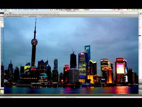 Center and Resize Background Image With Dreamweaver