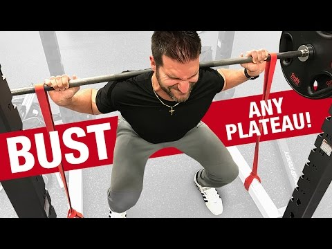 Get Big Legs with FRONT Squats & SPEED Squats (LEG WORKOUTS FOR MEN!)