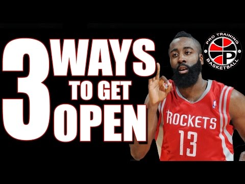 How To Get Open | 3 Ways To Get Open | Pro Training Basketball