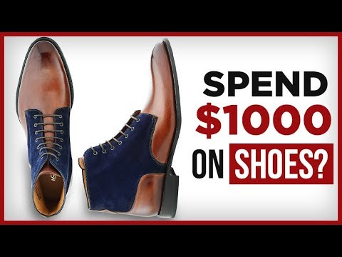 $1000 On Shoes? 5 Tips To Buy AMAZING Shoes that get Compliments for under $200