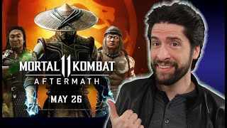 Mortal Kombat 11: Aftermath - Trailer (My Thoughts)