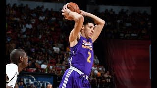 full highlights best of lonzo ball vs the brooklyn nets mgm resorts nba summer league july 15
