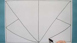 3D Line Illusion / Relaxing Drawing / Fun Activity / Daily Art Therapy / Day 052