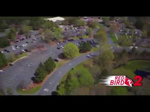 Red Bird 2: Drone Video Over NC Zoo In Asheboro
