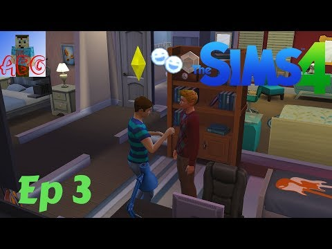 The Sims 4 Let's Play Ep. 3: Becoming Best Friends With Travis