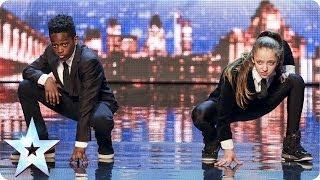 Sensational Streetdance - Lauren & Terrell   Britain's Got Talent 2014