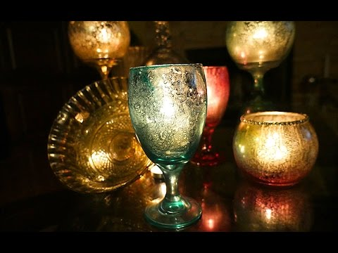 DIY | Colored Mercury Glass