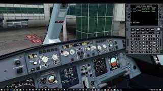 FSX HD A330 Toronto To London Gatwick