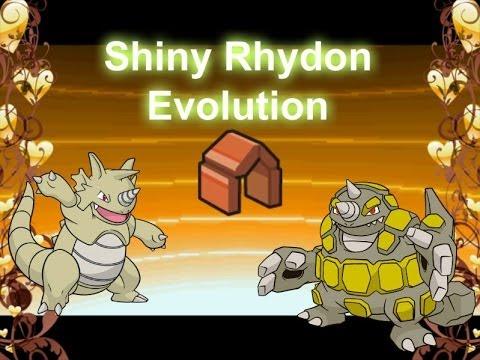 Shiny Rhydon Evolution