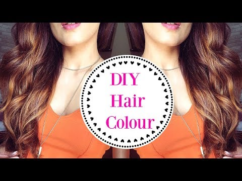 How To: Easily Tone Down Your Hair Colour At Home/ Lowlights Hair Tutorial- Knot Me Pretty