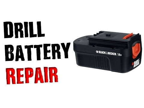 Fix a Dead Drill Battery That Wont Charge- Don't Throw it Away!