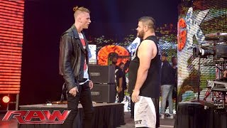 Kevin Owens attacks Machine Gun Kelly after his performance: Raw, June 15, 2015